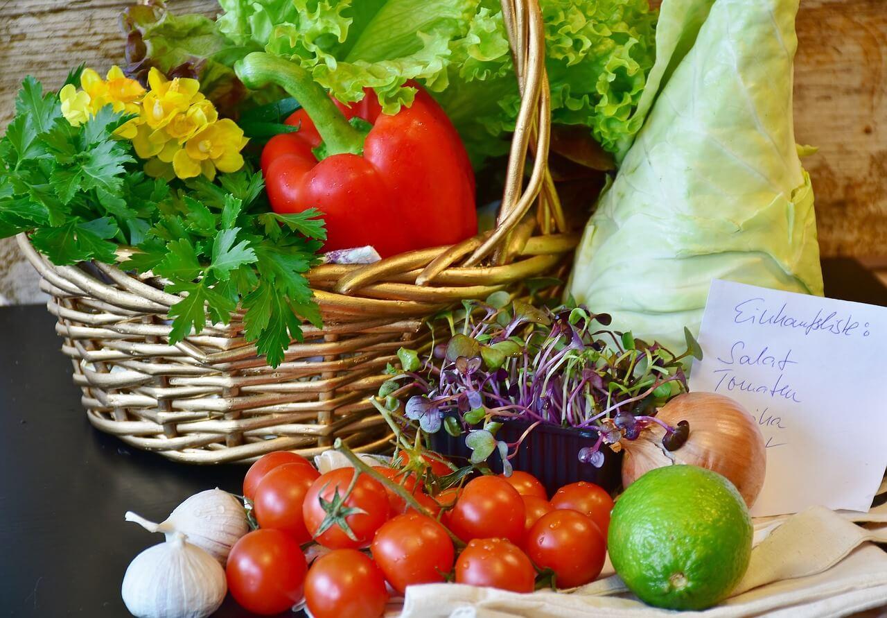 Lebensmittel in der richtigen Lebensmittelverpackung lagern.