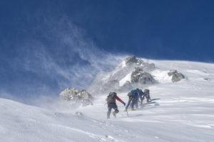 Die Dreier Regel überleben bei Wintereinbruch