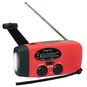 Das Solar Kurbelradio für den Notfall
