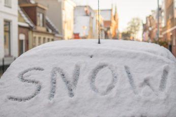 Ausnahmezustand - Schnee in Deutschland