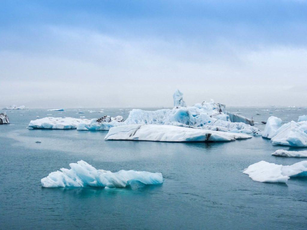 Das Eis schmilzt unaufhaltsam